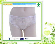 Cheap wholesale hospital disposable panties for unisex/adult unisex incontinence fix pants