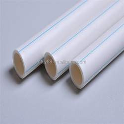 Plumbing material 20mm to 200mm PPR pipe for potable water
