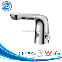 Contemporary Design Faucet Automatic One piece Water Tap Watermark