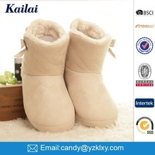 New product winter colorful suede fabric attrictive snow boot