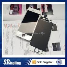 lcd for iphone 5s with digitizer touch screen Assembly full replacement accessory