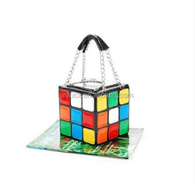 Fashion design Handbags Cube Bag / Lady Leather bag / magic cube bag