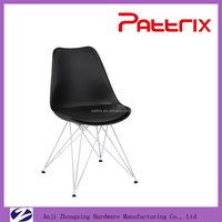 Pattrix Best Selling White Metal Leg Dining Room Furniture Modern AH-1003W