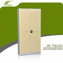 metal lockable office design double swing door metal stationary filing cupboard/KD steel godrej storage cupboard