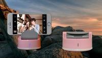 High Quality Hot Sale Self-timer Self Timer Selfie Robot for Phone,Pocket Swivel Selfie Robot With Bluetooth Wireless Shutter
