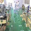 Caboli epoxy spray non-slip floor coating