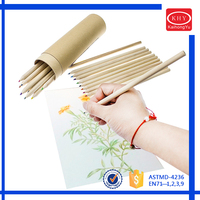 """7"""" Promotional paper tube package 36 colors colorful pencils"""