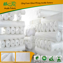 European countries breathable wholesale bamboo muslin fabric