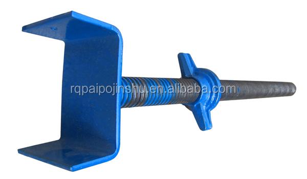 Adjustable U Head : Adjustable building scaffolding support jack u head