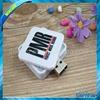 2015 cheap Rotary telescopic card usb flash drive disk 1GB