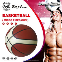 Japanese Micro Fiber Leather Basketball for Top Match Use