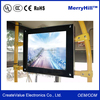 1366*768 And 16:9 Monitor 10/12/15/17/18.5 inch LCD Screen Flush Mount/ Flip Down/ Roof Mount
