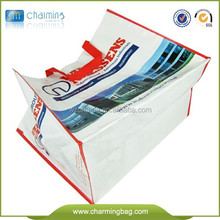 European& American style laminated pp woven shopping bag