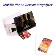 Sunset Glow Pattern 8.2 Inch Universal PU Screen Enlarge Stand for iPhone 6