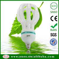 good sell 8000 hours lotus 105W E27 220-240V energy saving lamp cfl made in P.R.C