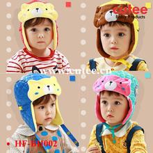 Winter Baby Hat Crochet Pattern,Baby Winter Hat With Earflaps,Children Felt Hats
