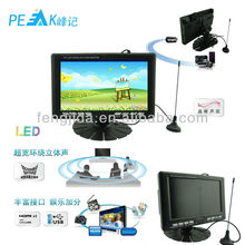 "7"" super TFT LCD color TV with USB/SD"