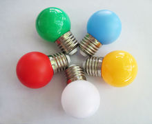 LED Christmas Decorative light bulb green red yellow blue white for Christmas