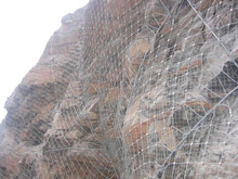 Used in the road construction SNS Active protection mesh Used in the road construction SNS flexible wire for protection