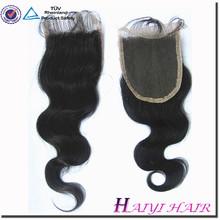 Top Quality 5A Grade Brazilian Virgin Hair Cheap Lace Closure Piece Body Wave 4*4 inch Fast Shipping