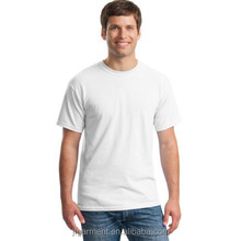 OEM fashion printed white short sleeve o-neck cotton men summer t shirts made in china
