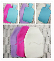 Polyester fleece Cover for Rubber Hot Water Bottle