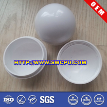 White hollow plastic toy balls by factory