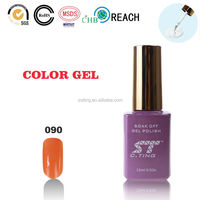 2015 uv nail gel polish with curing lamp for gel polish cosmetic