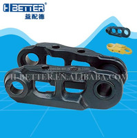 Bulldozer undercarriage parts track link for D4D