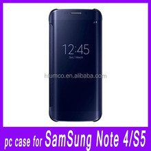 Hot Sale classical mirror case,multicolor case,electroplated PC case for Samsung Note 4/Samsung S5