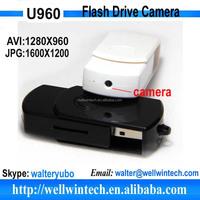 Best USB Hidden Camera Pocket Flash Drive Mini DVR Video Recorder Black HD PC Camera With Key Chain