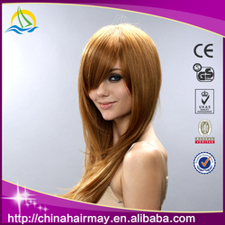 Populor Modern Bright Brown Show Aliexpress Hair Synthetic Wig