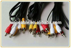 gold plated 2m custom male to male rca to rca audio cable