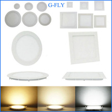 280mm cutout 25w SMD2835 100-240VAC square slim indoor led downlight with 2 years warranty