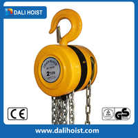 hand chain power source and chain sling type HSZ-KII movable pulley chain block