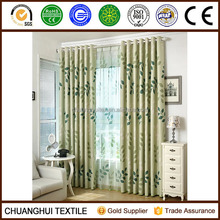 two side dull leaf designs printed curtain latest curtain styles for living room