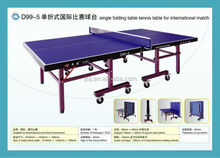 Single Folding Table Tennis Tables For International Match,2015 Newest OEM Ping-Pong Table,Moveable,Foldable Sports For Sale