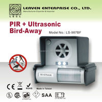 PIR + Ultrasonic Bird-Away bird repeller bird controller
