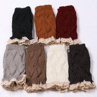 2015 bust sell socks Lace side warmers knitting wool socks leg warmers VIVI socks