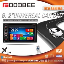 6.5 inch car DVD Player with GPS / Without GPS function All can do !