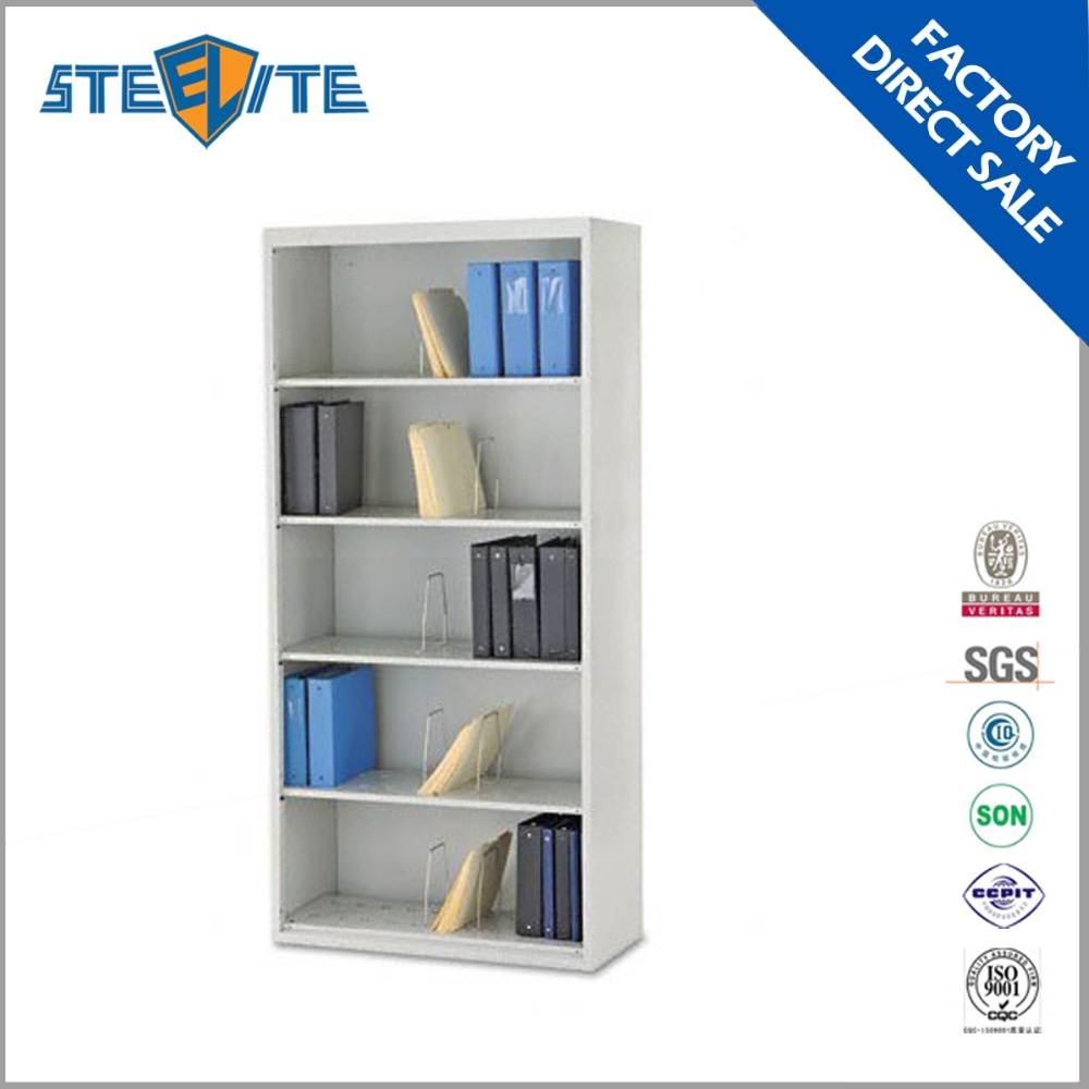 No door steel filing cabinet cheap open metal file for Cheap book storage