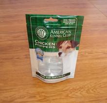 Plastic Pet Food Bag Raw Material Zip Lock Animal Food Packing Bag
