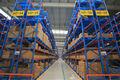 Heavy duty de palets de almacenamiento sistema de estanterías