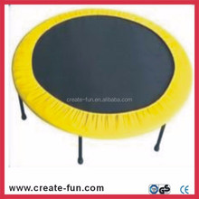 CreateFun Top quality Fashionable Popular kids toy 54 inch indoor mini round fitness quality trampoline