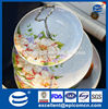 3 tiers cake stand, porcelain 3 layered cake/fruit plate for wedding plate set
