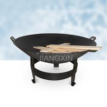 Cast Iron Fire Pit Outdoor Fire Bowl