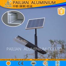 Solar panel aluminium structure,6063 alu alloy solar energy bracket,solar energy transformer bracket