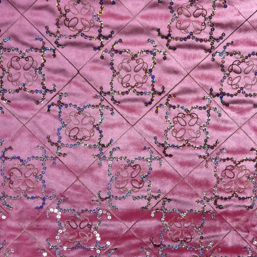 Borduurwerk pailletten ontwerpen italiaanse fluwelen stof gebruikt ...