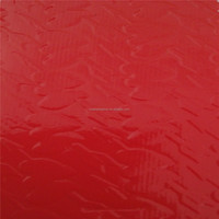 Hot selling glitter red material bag leather wholesale faux fabric leather for bag