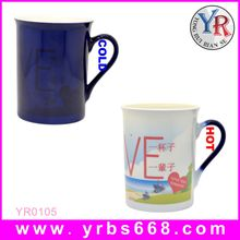 Blue Color Full Color Changing Valentins's Day Gift Mugs Custom Printing